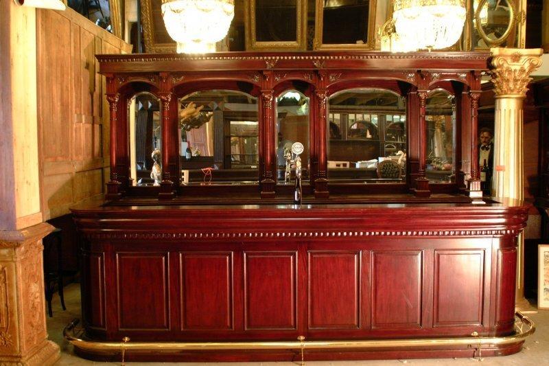 Engelse bar mahoniehout